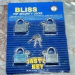 กุญแจชุด Bliss 50 mm