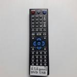 รีโมทดีวีดี ยูเอสบี USB ดำปุ่มฟ้า