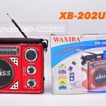 วิทยุ FM -AM รุ่น XB-202URT