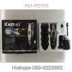 ปัตตาเลี่ยนไฟฟ้า ไร้สาย KM-PG 100 สีดำ