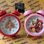 นาฬิกาปลุก กระดิ่งหมีใหญ่ 8845 แพ็ก 1 ตัว