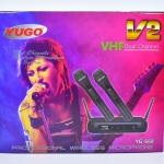 ไมโครโฟน ไมค์ลอยคู่ ไร้สาย YUGO รุ่น V2