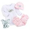 เซตชุดนอนช้างน้อย ดัมโบ้ เบบี้ Dumbo Gift Set for Baby - Pink