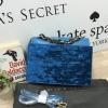 Charles&Keith Chain Top Handle Handbag *น้ำเงิน