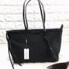 Charles&keith textured tote bag*ดำ