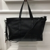 Zara trf leather tote bag-ดำ