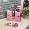 ALDO WHIPSTER BAG กระเป๋าหนัง PU ผ้ากริตเตอร์ปักมุก *สีชมพู
