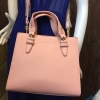 CHARLES & KEITH STRUCTURED HANDBAG *สีชมพู