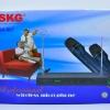 ไมโครโฟน ไมค์ลอยคู่ ไร้สาย SKG รุ่น SK-807