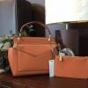 CHARLES & KEITH SMALL TOP HANDLE BAG *สีส้ม