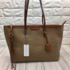 Charles&keith textured tote bag*น้ำตาล