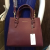 CHARLES & KEITH STRUCTURED HANDBAG *สีพรุน