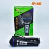 ไมโครโฟน ไมค์สาย Iplay รุ่น IP-60