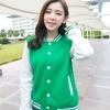 เสื้อคลุม แจ็คเก็ตแฟชั่น Classic style สไตล์เกาหลี-สีเขียว