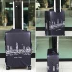 ผ้าคลุมกระเป๋าเดินทาง (Luggage Cover) รหัส 145