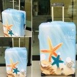 ผ้าคลุมกระเป๋าเดินทาง (Luggage Cover) รหัส 149
