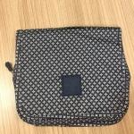 กระเป๋าอเนกประสงค์ จัดระเบียบกระเป๋าเดินทาง (สีน้ำเงินจุดเหลี่ยน)