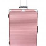 กระเป๋าเดินทางขนาด 25 นิ้ว โครงอะลูมิเนียม อลูมิเนียม วัสดุ ABS+PC