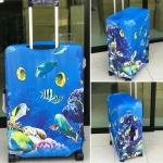 ผ้าคลุมกระเป๋าเดินทาง (Luggage Cover) รหัส 47
