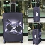 ผ้าคลุมกระเป๋าเดินทาง (Luggage Cover) รหัส 129