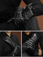 ถุงมือหนังชายบุวูล ทัชสกรีนได้ NEW