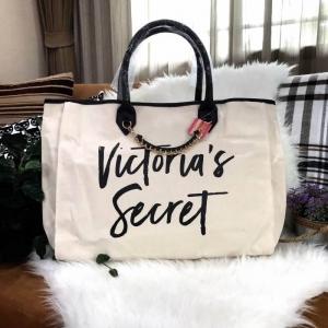 Victoria's Secret Canvas Large Tote Bag