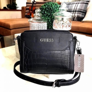 GUESS CROC SHOULDER BAG