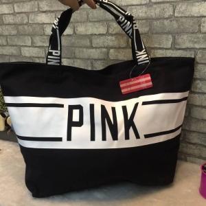 Victoria's Secret กระเป๋าสะพายใบใหญ่ *ดำ