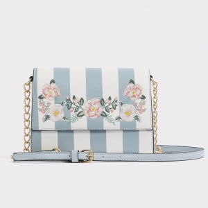 ALDO flower Crossbody Bag *สีฟ้า