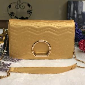PEDRO METAL DETAIL SHOULDER BAG *สีทอง