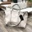 Zara trf leather tote bag thumbnail 2