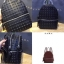 ZARA EMBOSSED STUDS MINI BACKPACK *ดำ thumbnail 2