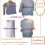 ชุดขาวแม่ชีแท้ครบชุด รัตนาภรณ์ (เบอร์1) thumbnail 2