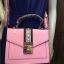 ALDO WHIPSTER BAG กระเป๋าหนัง PU ผ้ากริตเตอร์ปักมุก *สีชมพู thumbnail 5