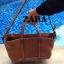 Zara trf leather tote bag *น้ำตาล thumbnail 3