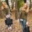 Zara trf leather tote bag-ดำ thumbnail 5