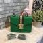 ALDO WHIPSTER BAG กระเป๋าหนัง PU ผ้ากริตเตอร์ปักมุก *สีเขียว thumbnail 1