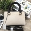 CHARLES & KEITH STRUCTURED TOP HAND BAG *สีครีมเบจ thumbnail 3