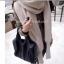 ผ้าพันคอไหมพรมสไตล์เกาหลี 2in1(เสื้อ&ผ้าพันคอ) thumbnail 4