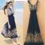 Maxi dress เดรสยาวชายหาด thumbnail 2