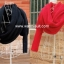 ผ้าพันคอไหมพรมสไตล์เกาหลี 2in1(เสื้อ&ผ้าพันคอ) thumbnail 3