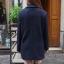 Dark Blue-เสื้อโค้ทกันหนาว สไตล์เกาหลี รุ่นกระดุม 2 แถว thumbnail 5