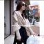 ผ้าพันคอไหมพรมสไตล์เกาหลี 2in1(เสื้อ&ผ้าพันคอ) thumbnail 1