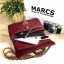 MARCS WOMAN QUILTED CHAIN SHOULD BAG *สีแดง thumbnail 3