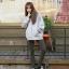 เสื้อคลุมฮู้ด แจ็คเก็ตซิป แขนยาวกันหนาว สีเทา thumbnail 3