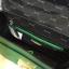 ALDO WHIPSTER BAG กระเป๋าหนัง PU ผ้ากริตเตอร์ปักมุก *สีเขียว thumbnail 5