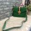 ALDO WHIPSTER BAG กระเป๋าหนัง PU ผ้ากริตเตอร์ปักมุก *สีเขียว thumbnail 3