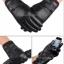 ถุงมือหนังผู้หญิง บุวูลด้านในทัชสกรีนได้ thumbnail 1