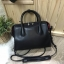 CHARLES & KEITH DOUBLE ZIP STRUCTURED BAG *ดำ thumbnail 1