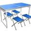 โต๊ะพับเอนกประสงค์ คุณภาพดี แข็งแรงทนทาน ขนาด 120 x 60 cm ปรับความสูงได้ 3 ระดับ
